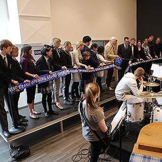 Grand opening of Music Centre
